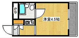 大阪府大阪市西成区橘1丁目の賃貸マンションの間取り