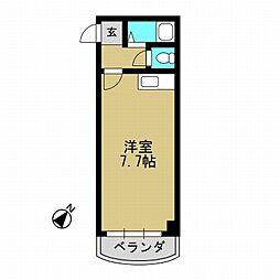 大島マンション[3階]の間取り