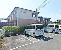 京都府亀岡市大井町土田の賃貸アパートの外観