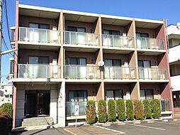 神奈川県川崎市中原区下新城2丁目の賃貸マンションの外観