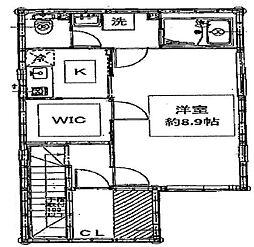 アムール愛宕館[2階]の間取り