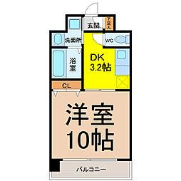 カサグランデ新栄[3階]の間取り