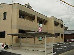 愛知県一宮市丹羽字北屋敷の賃貸アパートの外観