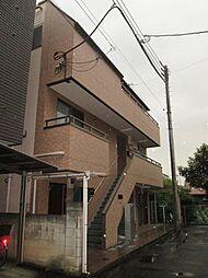 神奈川県川崎市中原区上新城1丁目の賃貸マンションの外観