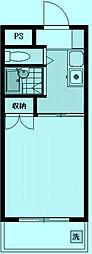 ハイタウン多摩川No.2[1階]の間取り