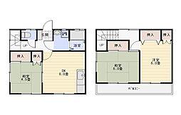 [テラスハウス] 神奈川県平塚市公所 の賃貸【/】の間取り