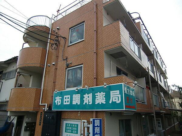 リバーモガミ[3階]の外観