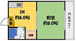 プレアール守口大和田[3階]の間取り