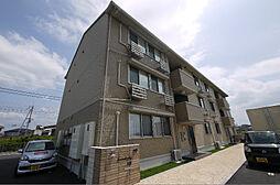 滋賀県草津市西矢倉2丁目の賃貸アパートの外観