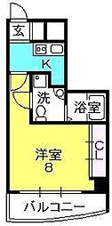 セレニテ甲子園I[502号室]の間取り