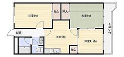 桜ヶ丘レジデンス 1[3階]の間取り