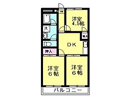 森川マンション[105号室号室]の間取り