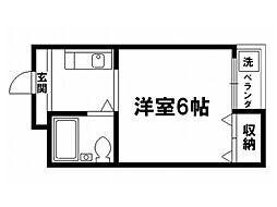 メゾンプリムローズ[3階]の間取り