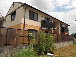 岡山県岡山市東区宍甘の賃貸アパートの外観