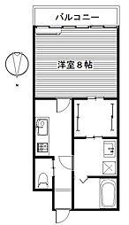 グランバレーII/[2階]の間取り