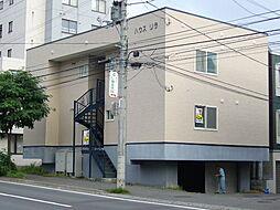 北海道札幌市南区澄川一条3丁目の賃貸アパートの外観