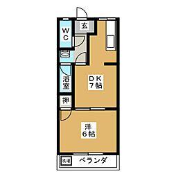 ラフォーレ556[2階]の間取り