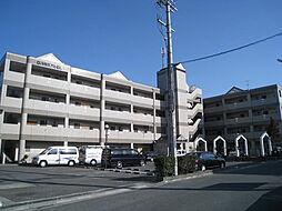 大阪府東大阪市布市町2丁目の賃貸マンションの外観