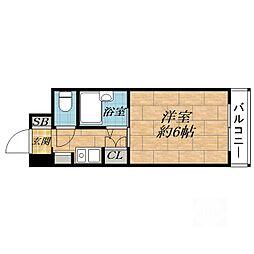 ワイズマンション[4階]の間取り