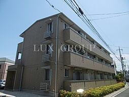 東京都日野市栄町2丁目の賃貸アパートの外観