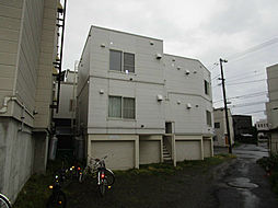 北海道札幌市東区北十六条東5丁目の賃貸アパートの外観