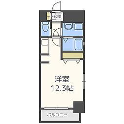 カイセイ本町東[4階]の間取り
