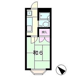 M・Kハイツ[2階]の間取り