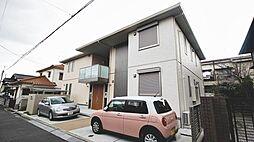 大阪府堺市西区鳳中町1丁の賃貸アパートの外観