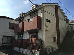 千葉県千葉市稲毛区轟町4丁目の賃貸アパートの外観