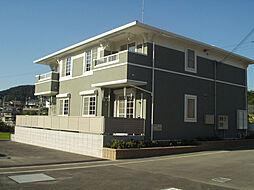 和歌山県和歌山市磯の浦の賃貸アパートの外観
