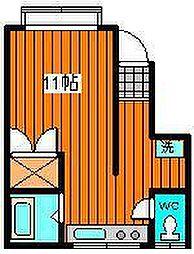 ハウジング大町68[1-7号室]の間取り