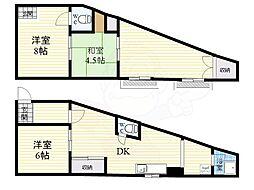 西中島南方駅 7.7万円