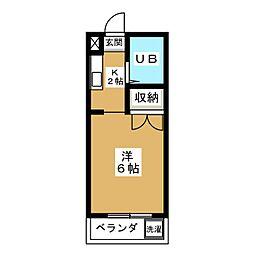 プラム21[1階]の間取り