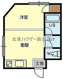 栄和ビル[3階]の間取り
