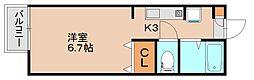 メゾンド・パル[1階]の間取り