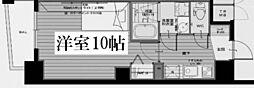 ヴィレッタEBISU東[8階]の間取り