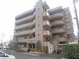 長野県長野市大字安茂里の賃貸マンションの外観