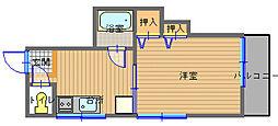 長崎県長崎市大浦東町の賃貸マンションの間取り