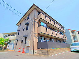 広島県広島市安佐南区山本4丁目の賃貸アパートの外観