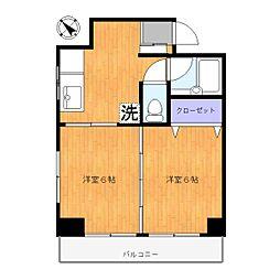 ドエルミヤガワ[303号室]の間取り