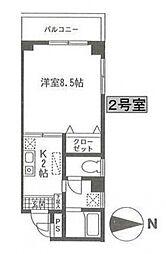 飯塚ビル[401号室号室]の間取り
