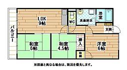 富士山荘[2階]の間取り