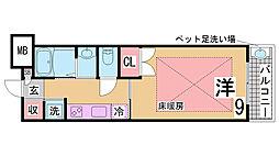 長田駅 6.4万円