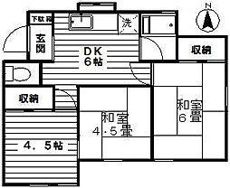 [一戸建] 神奈川県川崎市宮前区平6丁目 の賃貸【/】の間取り