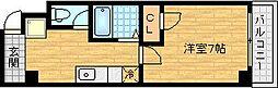 アール南森町[11階]の間取り