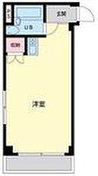 ランドフォレスト東豊田[101号室]の間取り