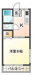 KT3ハイツ[2階]の間取り