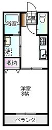 三和伊勢崎1[2階]の間取り