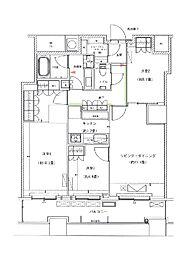 ザ・パークハウス西新宿60[43階]の間取り
