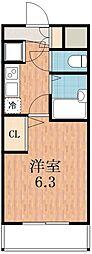 S・Eファースト[8階]の間取り